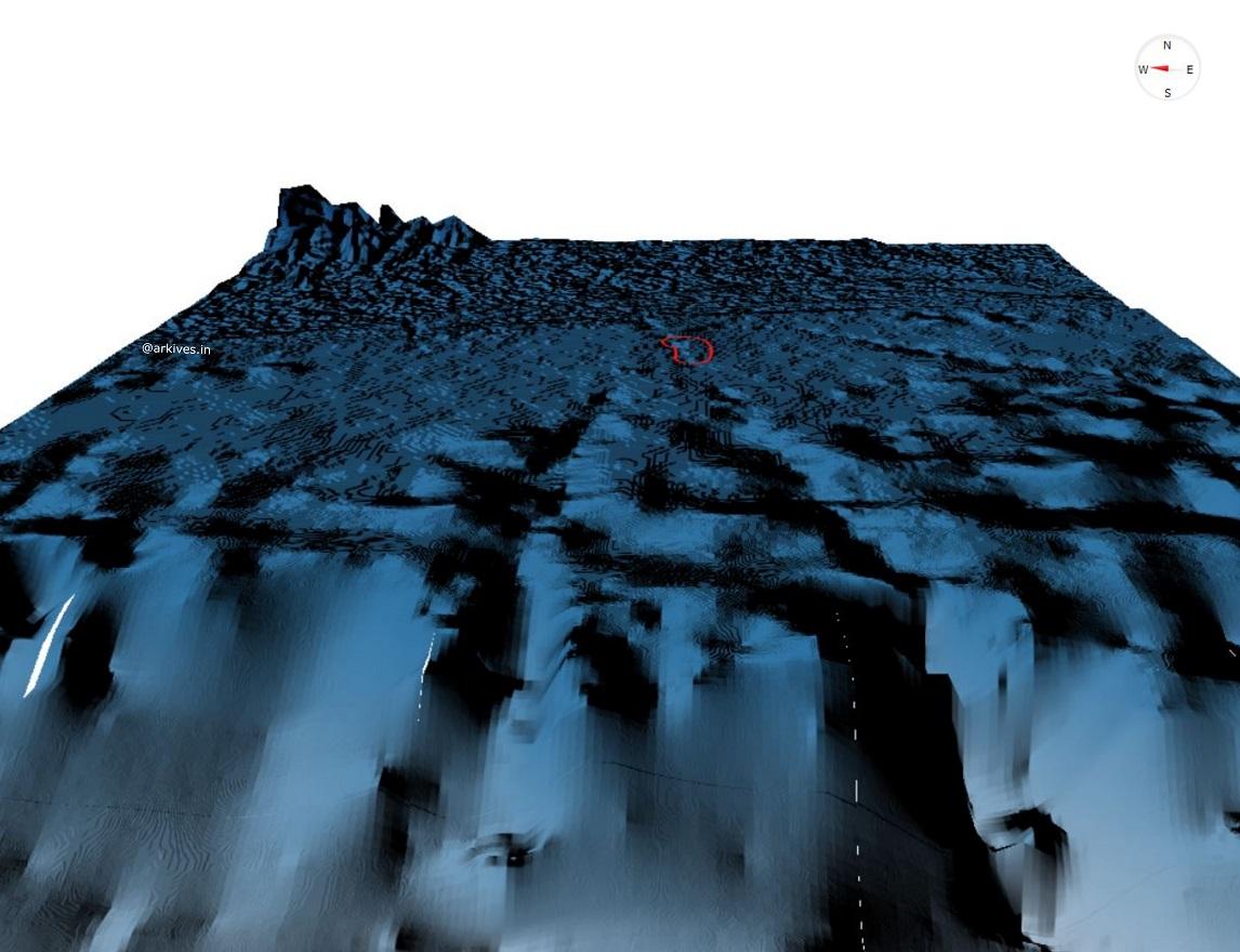 GEBCO_2020 Bathymetry data 3D visualised